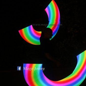 Tecno Led con effetto arcobaleno