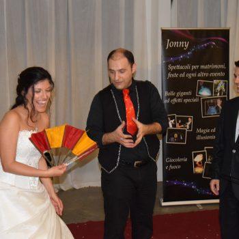 Coinvolgimento e divertimento con gli sposi