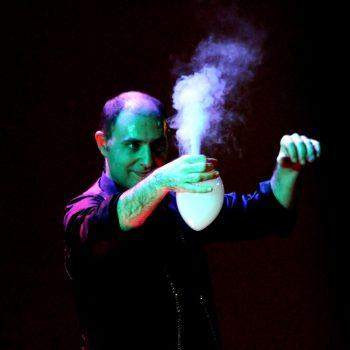 Effetti con le bolle di fumo